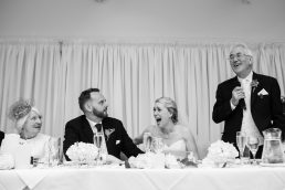Father of the bride speach at Stirk House wedding venue
