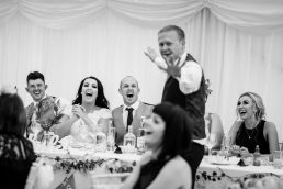 Wedding speach cotswolds weding venue