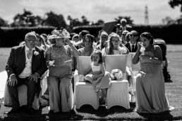 Outdoor wedding at thornton manor