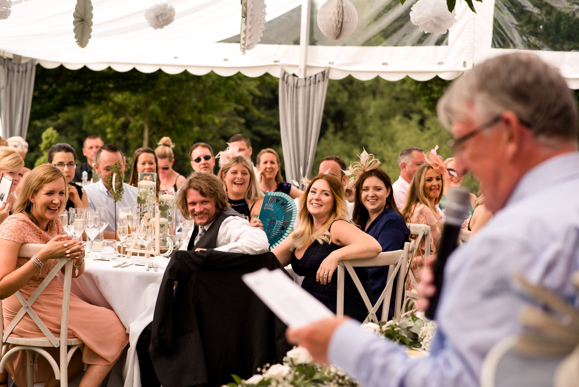 Father of the bride speech at holgord estate wedding venue