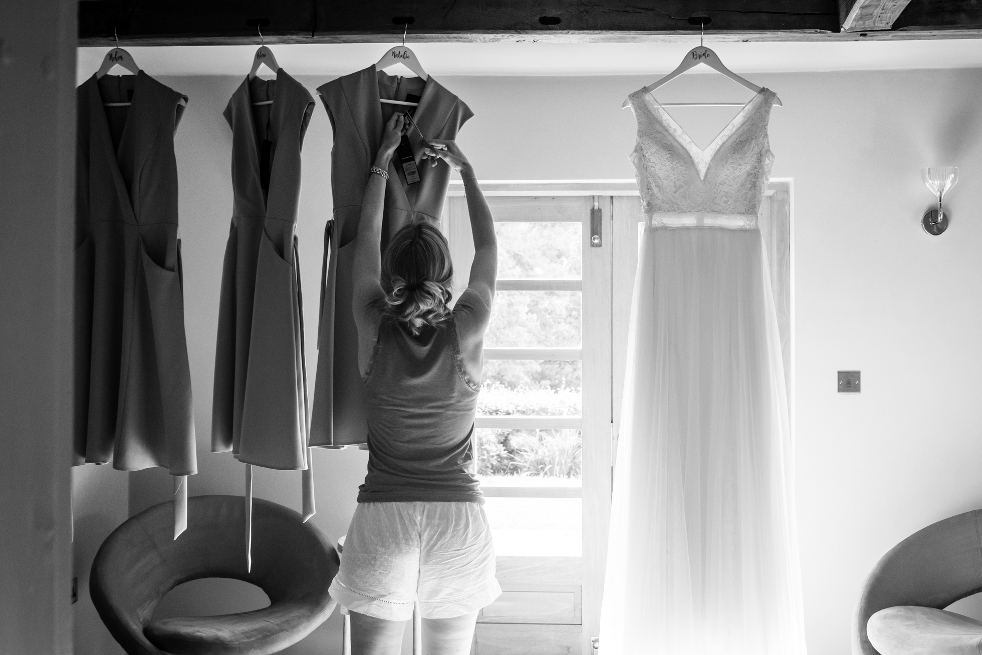 Nearly dress time at Holford Estate