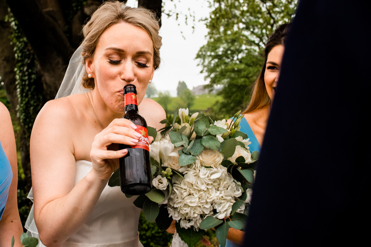 Documentary wedding photography in Lancashire
