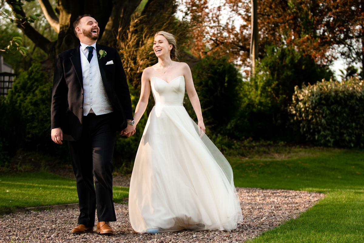 Lancashire documentary wedding photographer