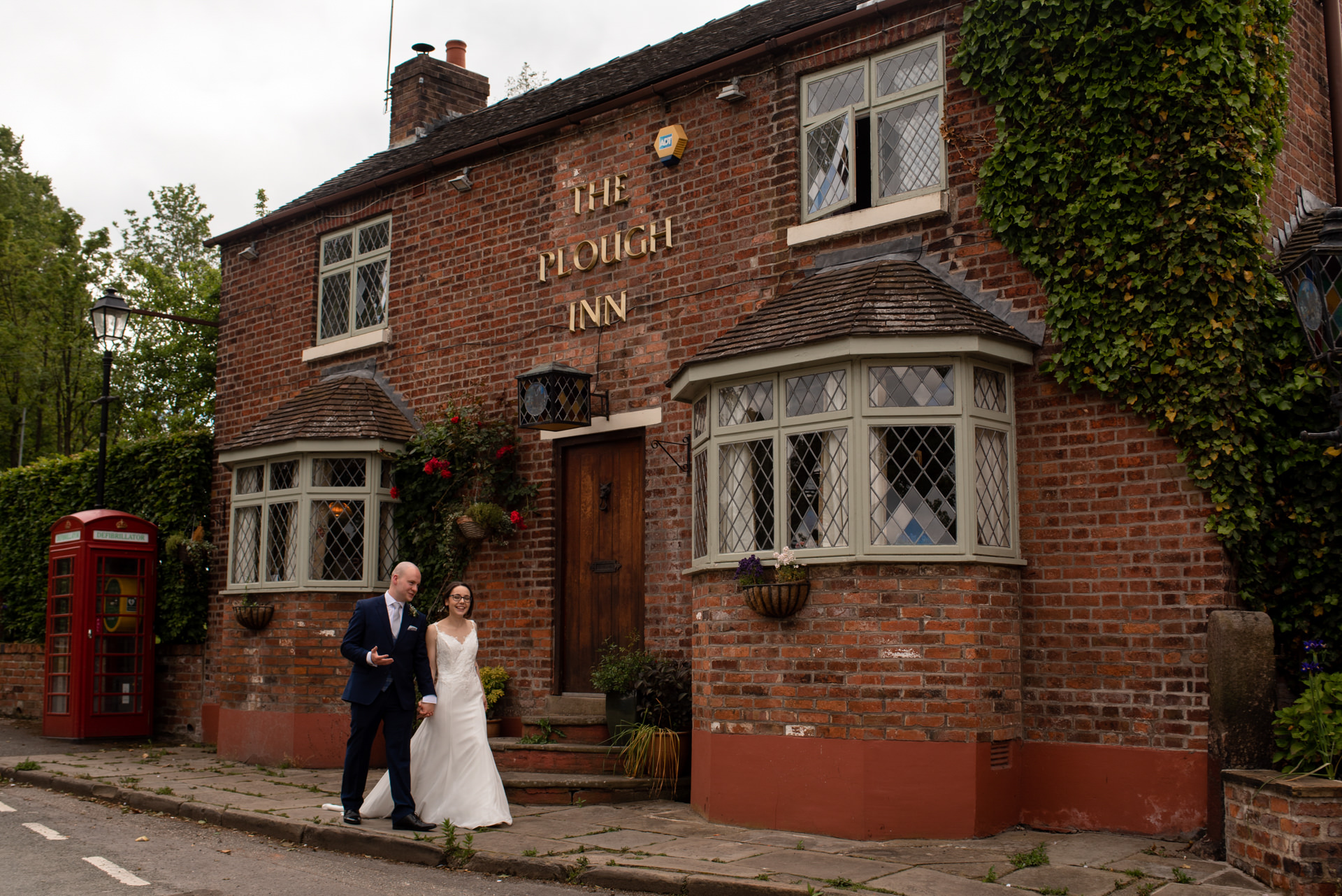 The Plough inn wedding photography