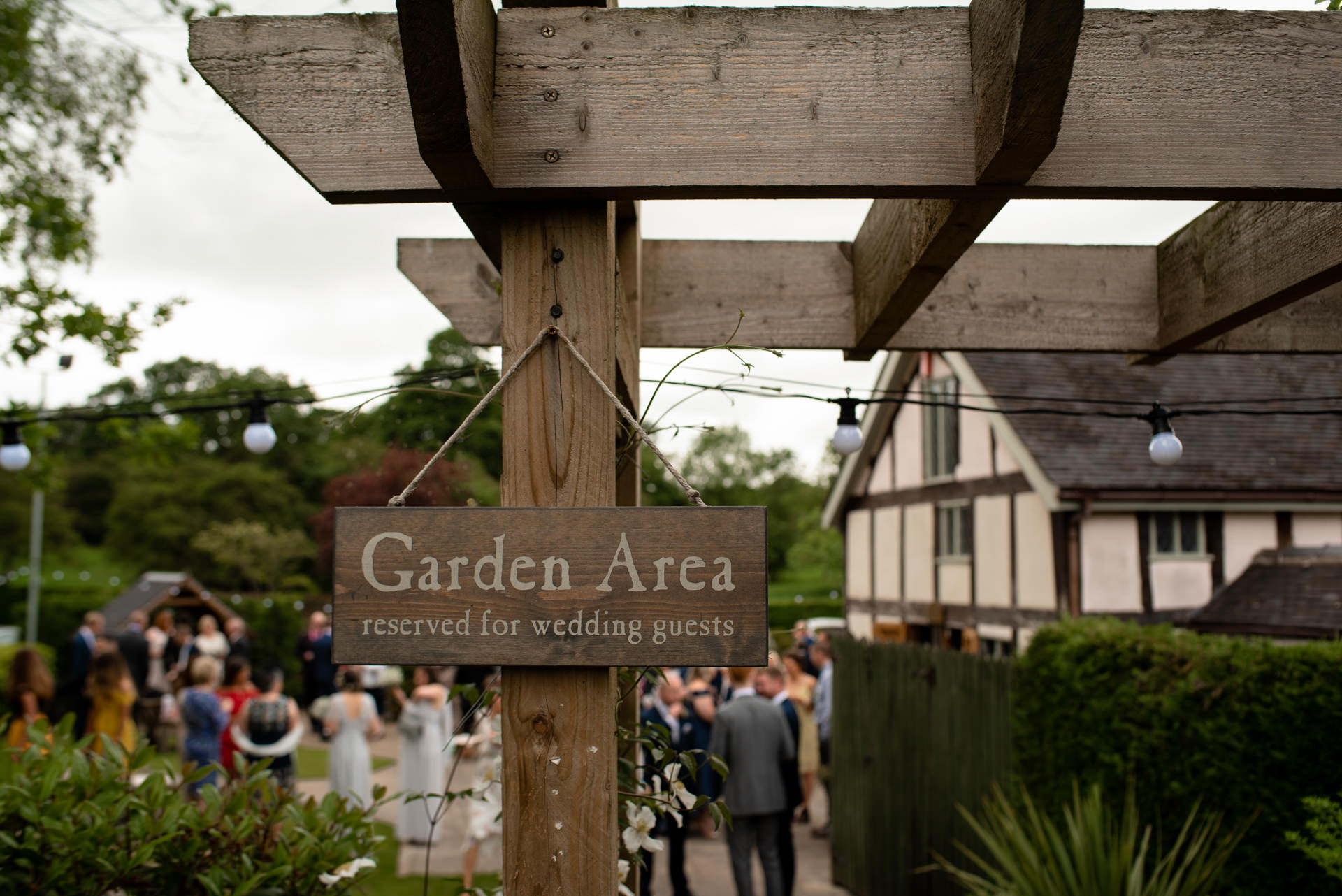 The Plough inn wedding photo
