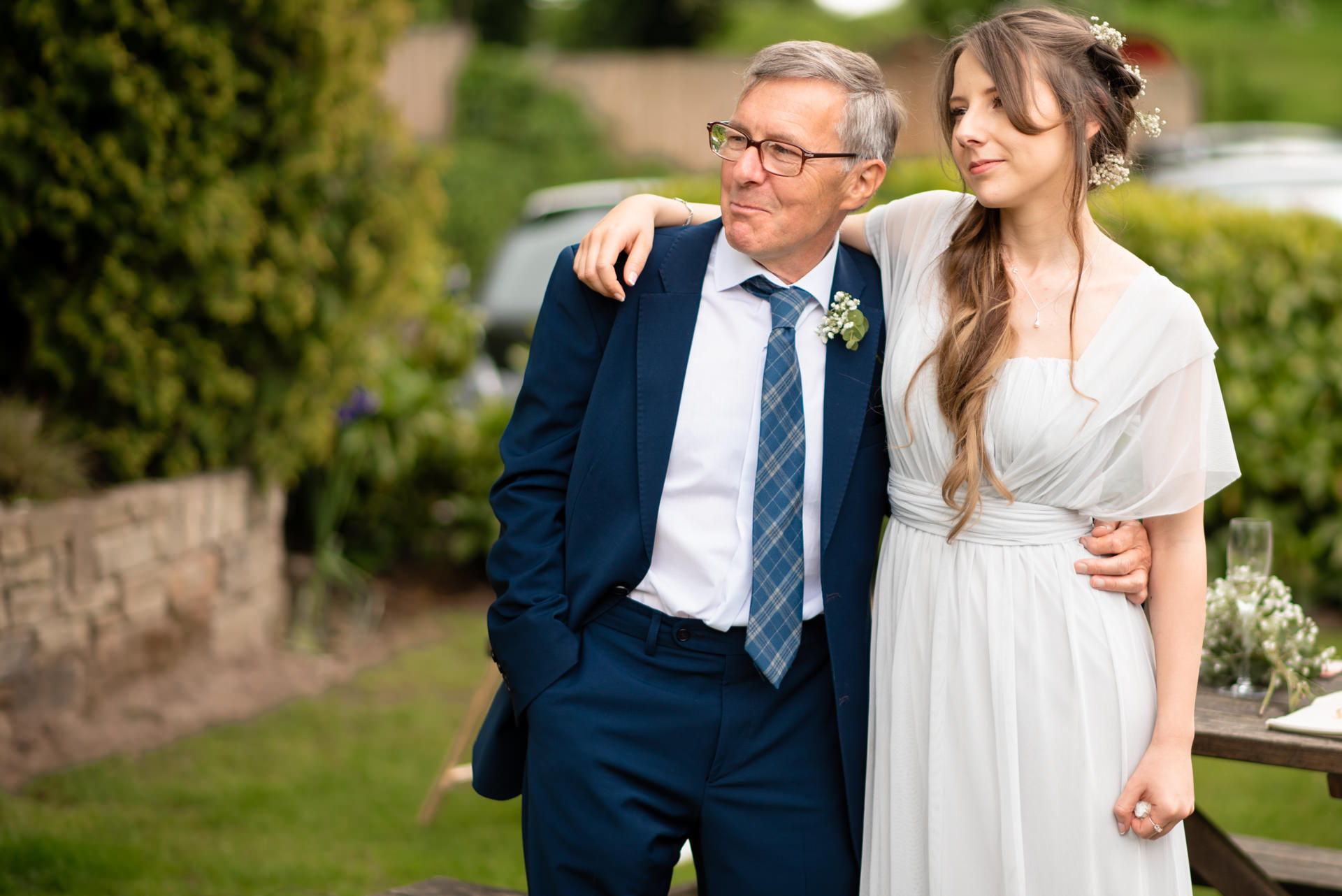 Reportage and documentary wedding photographer in Cheshire